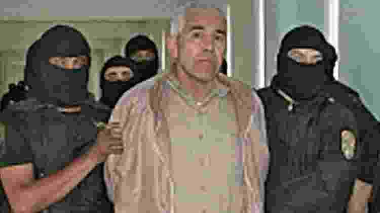 Caro Quintero foi libertado em 2013, depois de passar quase três décadas na prisão. O habeas corpus foi revogado, mas ele já tinha solto e está foragido desde então - AFP - AFP