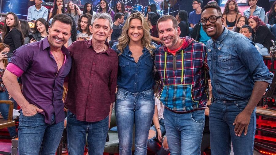 Eduardo Costa participa do Altas Horas - Fábio Rocha/TV Globo/Divulgação