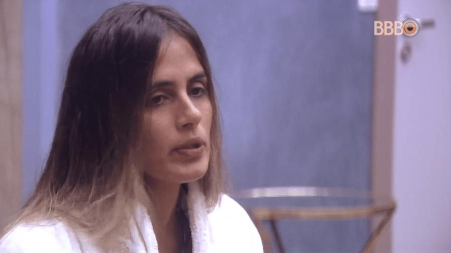 Carolina conta qual será sua indicação como líder - Reprodução/GloboPlay
