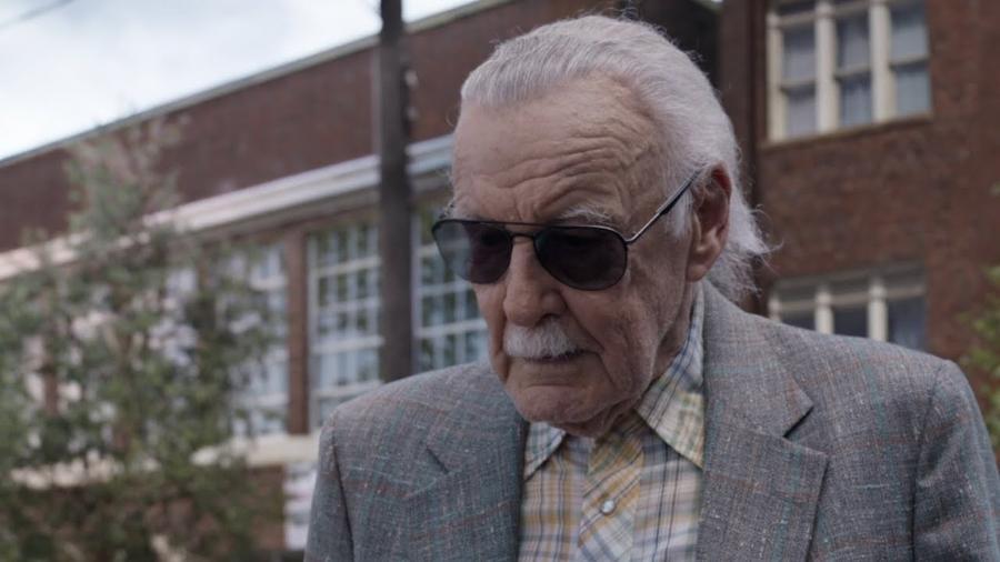 Stan Lee em cena de Homem-Formiga e a Vespa (2018) - Reprodução