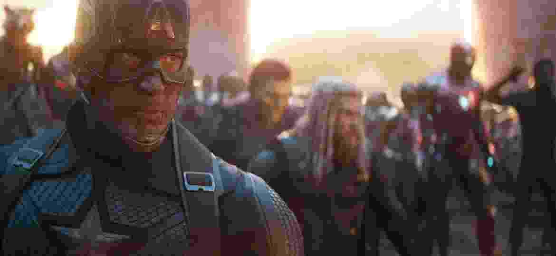 Cena de Vingadores: Ultimato - Divulgação