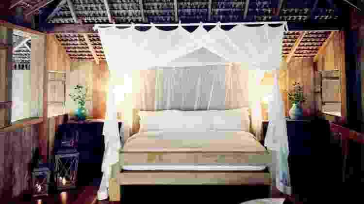 Um dos quartos do resort UXUA Casa Hotel & Spa de Trancoso  - Divulgação  - Divulgação