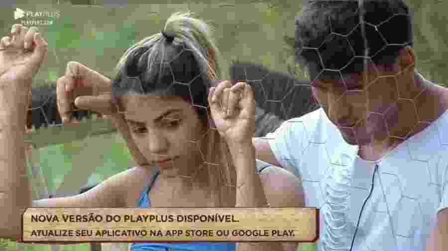 Hari e Lucas conversam - Reprodução/Playplus