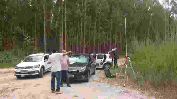 Perícia atestou que a Veracel não possui documentos que comprovem que ela é proprietária das terras de Asdrubal - Asdrubal Fortunato da Silva Junior/BBC - Asdrubal Fortunato da Silva Junior/BBC
