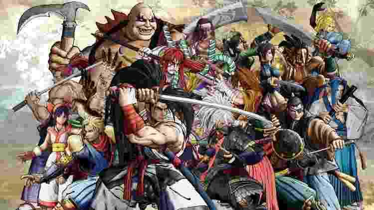 Samurai Shodown Bonecos - Reprodução - Reprodução