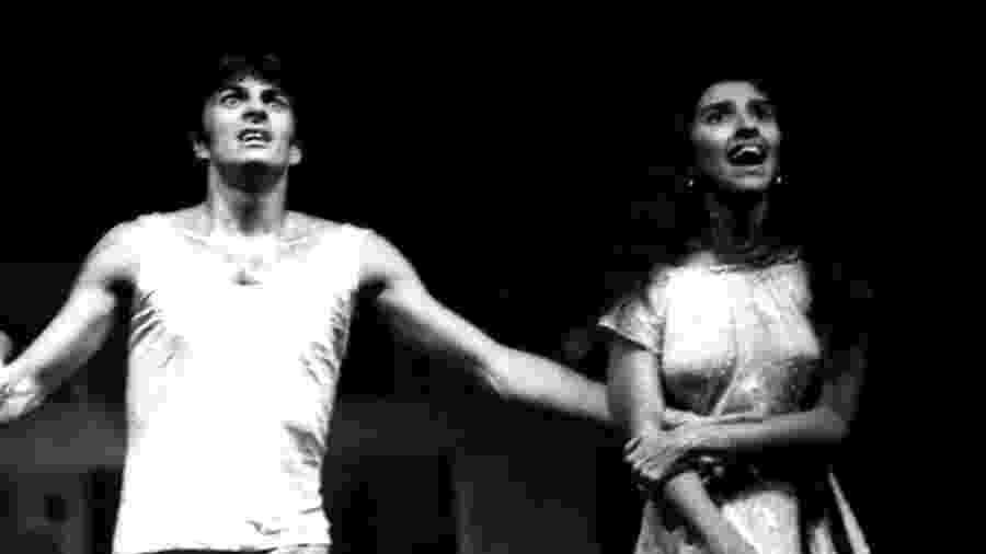 Regina Casé e Evandro Mesquita atuando juntos - Reprodução/Instagram