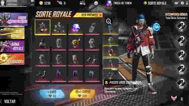 Diamante Royale - Reprodução - Reprodução