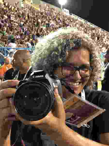 A fotógrafa Cacau Fernandes - Herculano Barreto Filho/ UOL