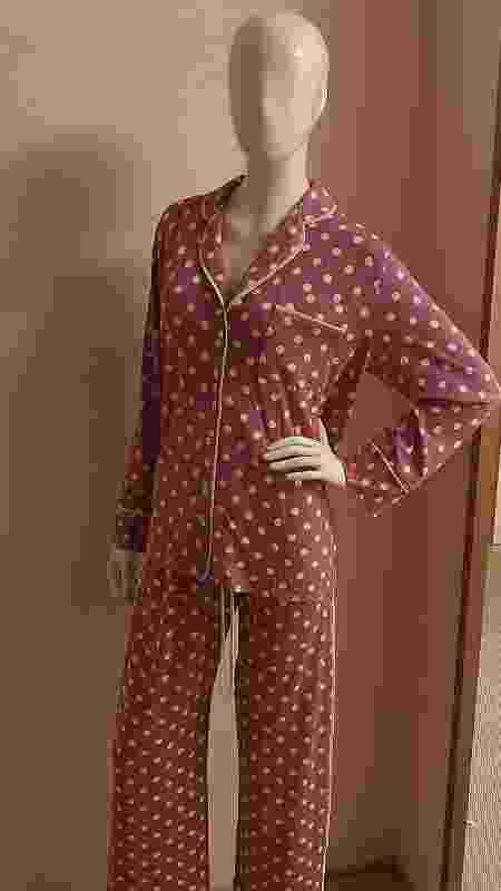 Pijama usado por Ivete Sangalo em live é de marca paulistana - Divulgação