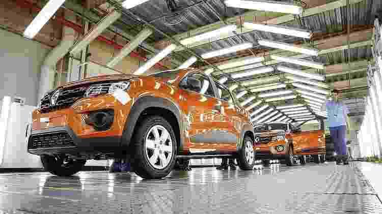 Fábrica da Renault no Paraná - Divulgação - Divulgação