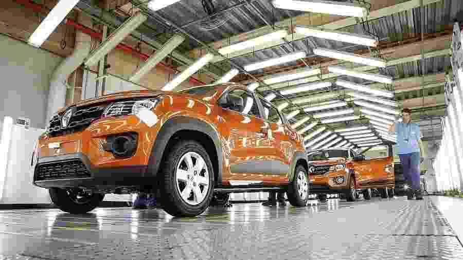 Fábrica da Renault-Nissan; marca teve perda recorde no primeiro semestre de 2020 - Divulgação