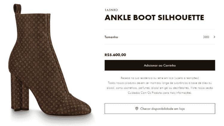 Ankle boot - Divulgação - Divulgação