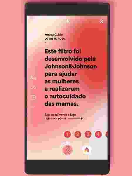 App autoexame - Divulgação/Johnson & Johnson - Divulgação/Johnson & Johnson