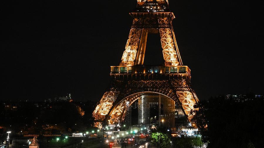 Torre Eiffel, em Paris, na França - Edward Berthelot/Getty Images