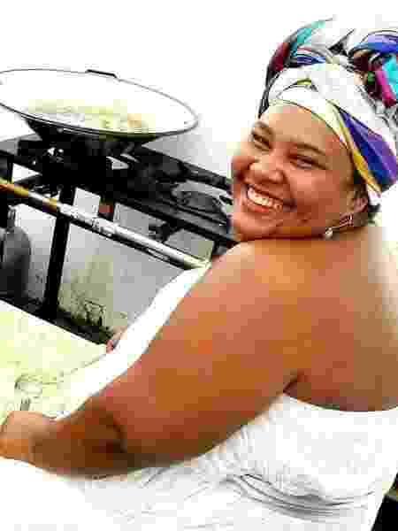 A chef e Iyabasse Carmen Virgínia - Divulgação