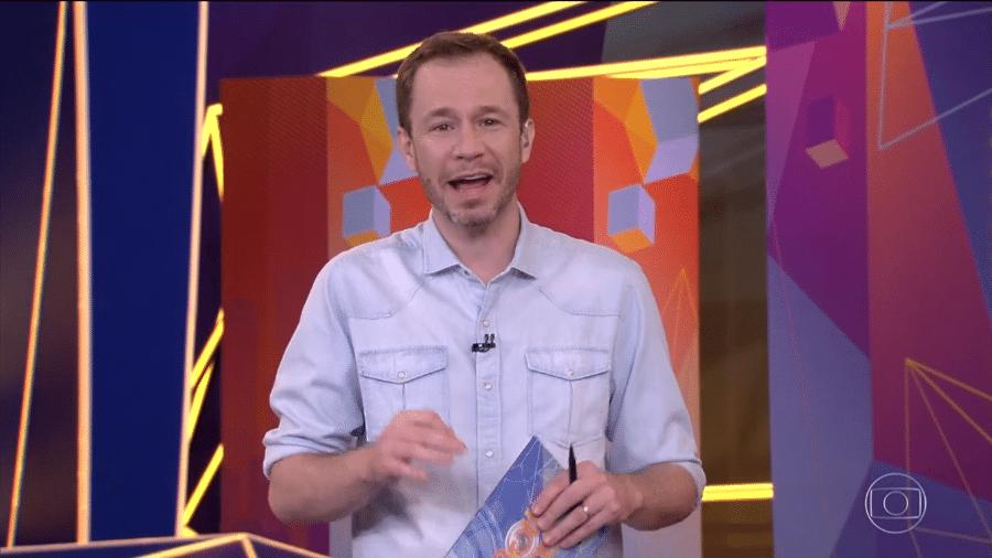 Tiago Leifert no BBB 21 - Reprodução/TV Globo