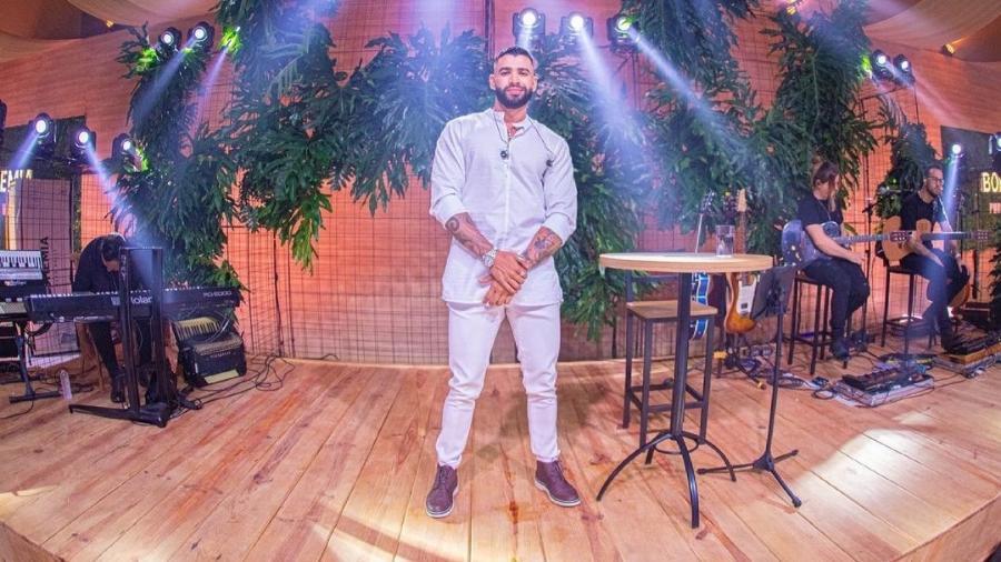 Gusttavo Lima faz sua primeira live de 2021 - Reprodução/Instagram