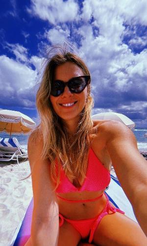 Carolina Dieckmann em foto tirada em Miami Beach