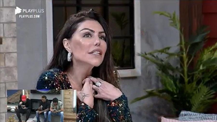 A Fazenda 2021: Liziane Gutierrez explica motivo de não ter brigado - Reprodução/Playplus
