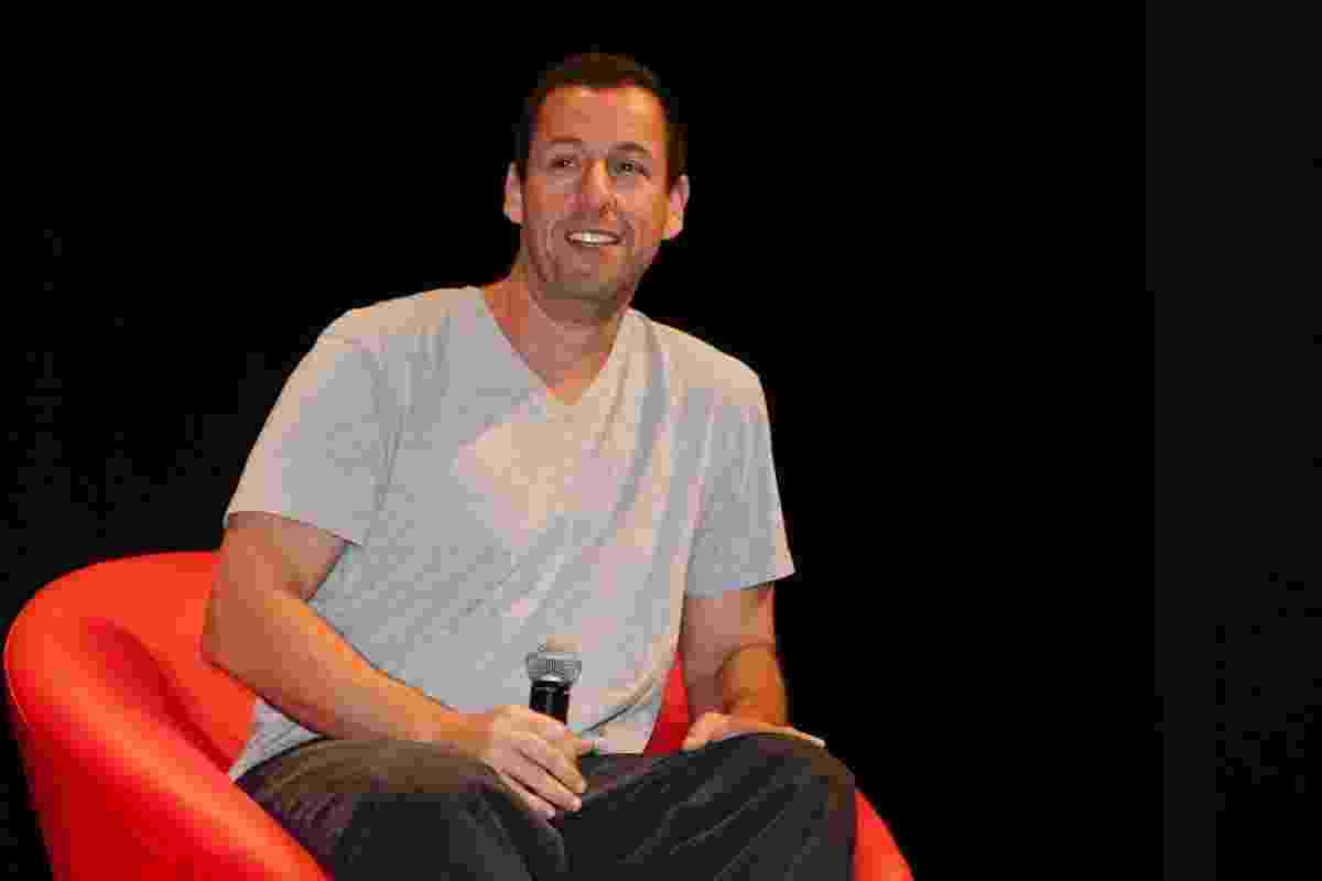 "6.dez.2015 - Adam Sandler participa do painel da comédia ""The Ridiculous 6"" na Comic Con Experience - Manuela Scarpa/Brazil News"