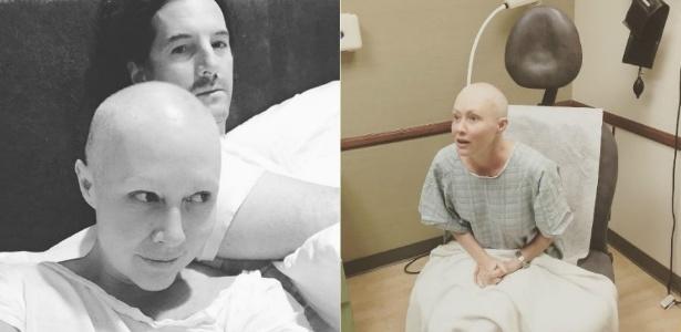 Em luta contra um câncer de mama, Shannen Doherty inicia tratamento de radioterapia e posta foto ao lado do marido - Reprodução/Instagram/theshando