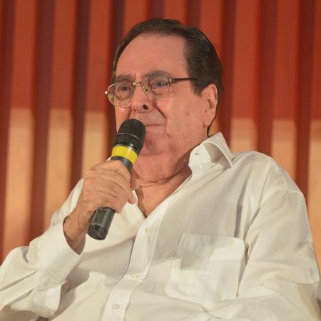 """Benedito Ruy Barbosa no lançamento de """"Velho Chico"""", em março de 2013 - João Miguel Junior/Divulgação/TV Globo"""