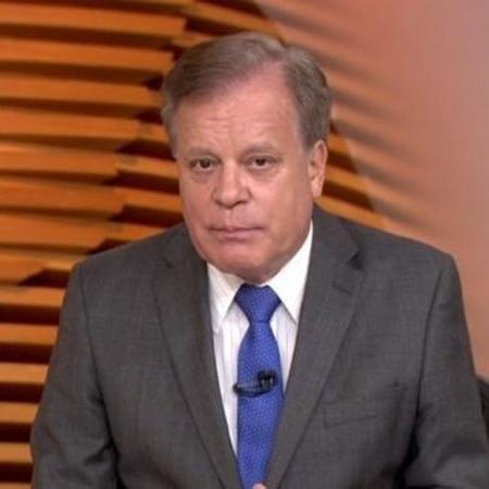 """Chico Pinheiro apresenta o """"Bom Dia Brasil"""" - Reprodução/TV Globo"""