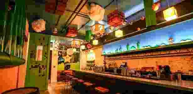 Bar ou Reino dos Cogumelos: Pub temático está chegando a formar filas nos EUA - Reprodução