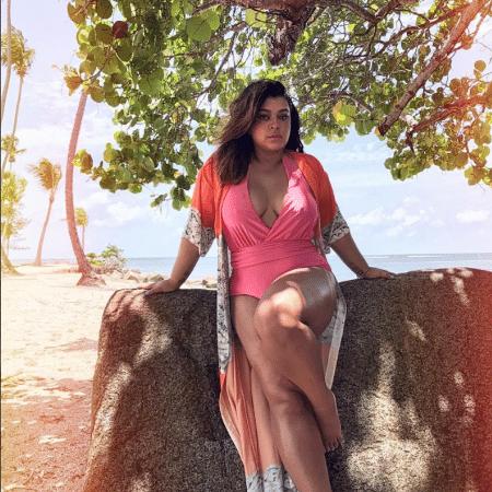 20.mai.2017 - Preta Gil sensualiza em foto de biquíni em Porto Rico - Reprodução /Instagram