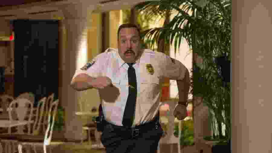 """Kevin James é o atrapalhado Paul Blart em """"Segurança de Shopping 2"""" - Divulgação"""