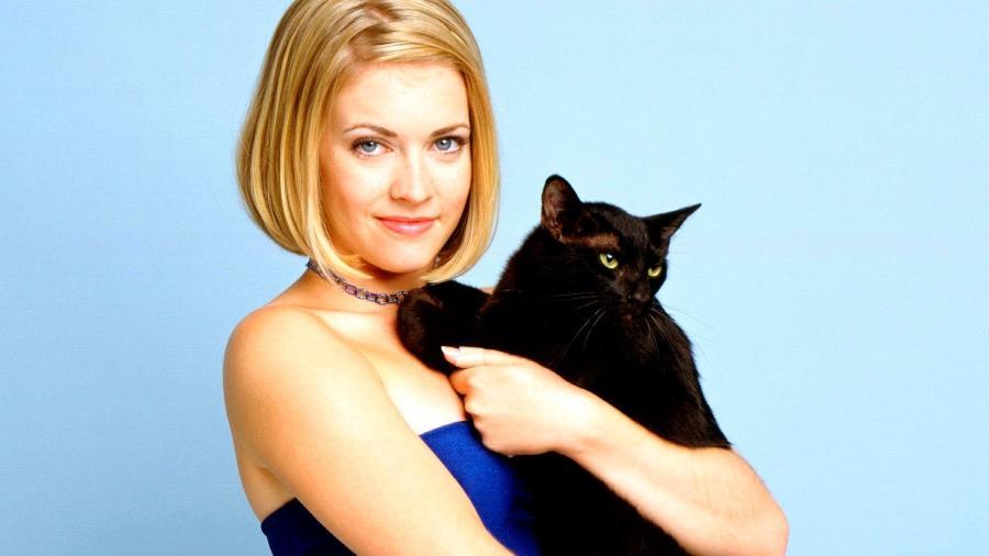 """Melissa Joan Hart em """"Sabrina, Aprendiz de Feiticeira"""" (1996-2003) - Divulgação"""