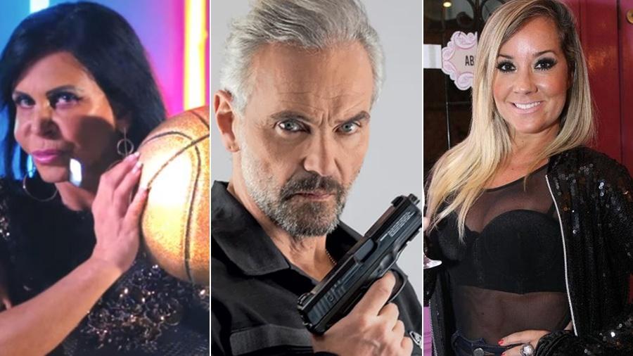 Gretchen, Mateus Carrieri e Vivi Fernandez já fizeram sucesso com filmes adultos e seguiram com a carreira - Divulgação