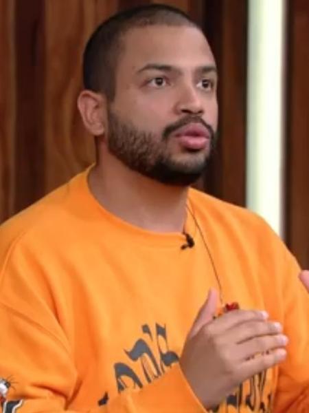 """Projota falou sobre preconceito no """"Conversa com Bial"""" - Reprodução/TV Globo"""