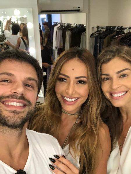 Duda Nagle, Sabrina Sato e Grazi Massafera - Reprodução/Instagram