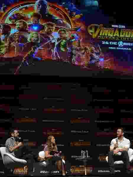 Chris Pratt conversa com jornalistas em São Paulo - Francisco Cepeda/AgNews - Francisco Cepeda/AgNews