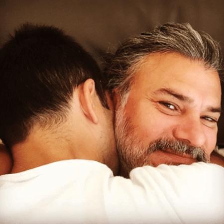 Leonardo Vieira e o namorado - Reprodução/Instagram