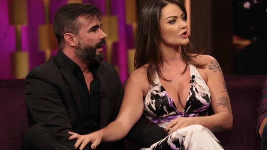 "Laura Keller no ""Programa do Porchat"" - Antonio Chahestian/Record TV"
