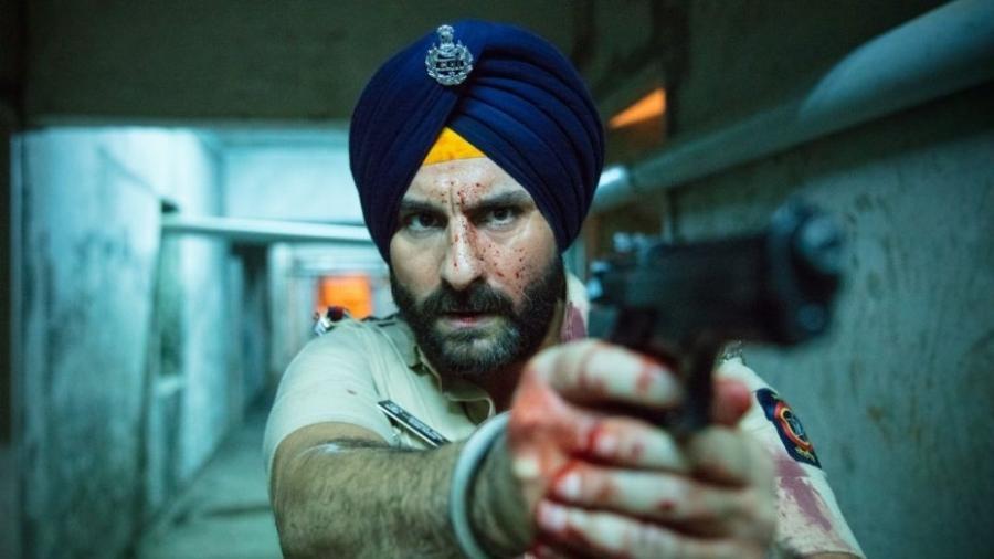 """Saif Ali Khan em """"Sacred Games"""" - Divulgação/Netflix"""