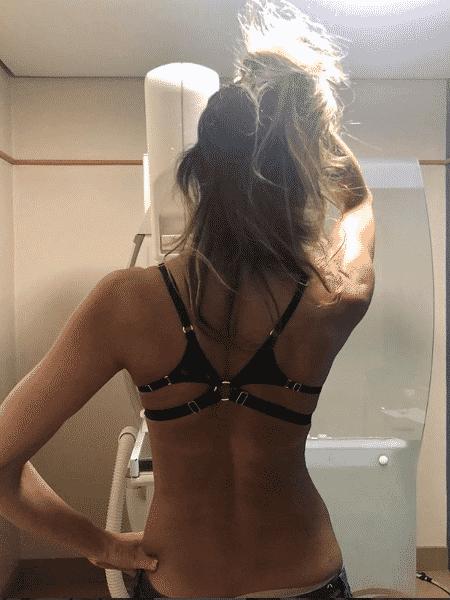 Luciana Gimenez faz mamografia - Reprodução/Instagram