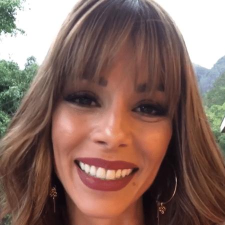 Ana Furtado comemora um mês sem quimioterapia - Reprodução/Instagram