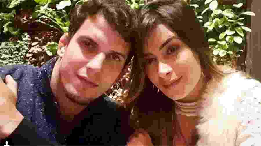 Felipe Sertanejo e a mulher, a apresentadora Lucilene Caetano  - Reprodução/Instagram