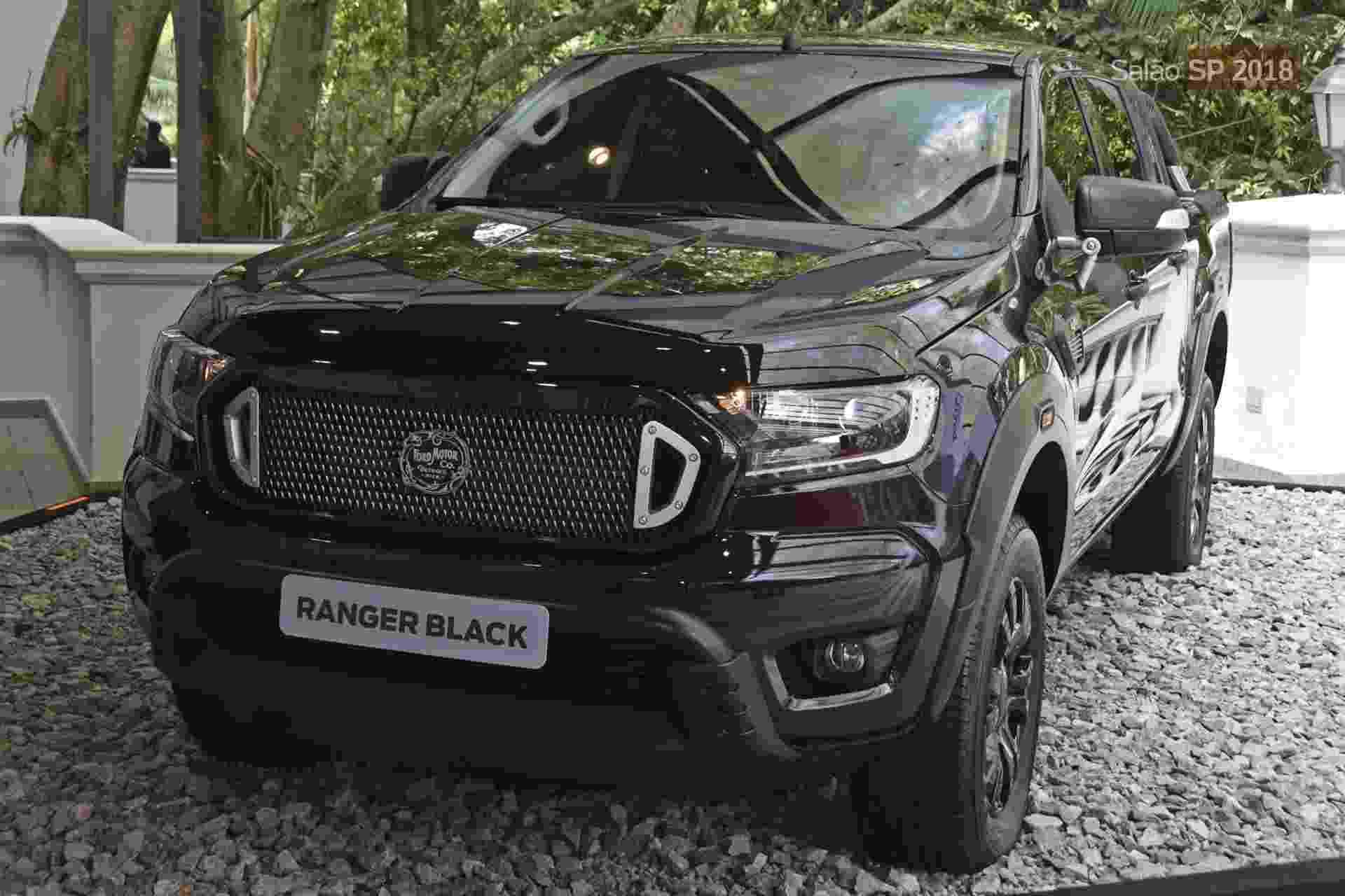 Ford Ranger Black Concept - Murilo Góes/UOL