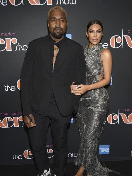 Kanye West e Kim Kardashian  - AP