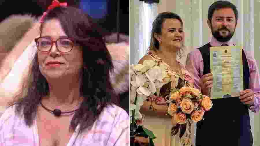 Tereza não pôde comparecer ao casamento do filho mais velho, Davys - Reprodução/Globoplay/Instagram