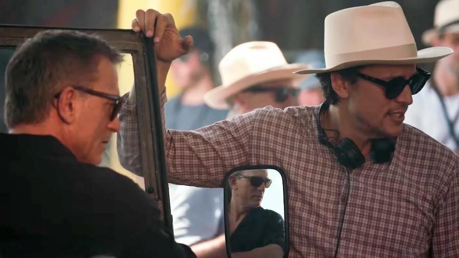 Daniel Craig é dirigido por Cary Fukunaga nos bastidores de Bond 25 - Reprodução/YouTube