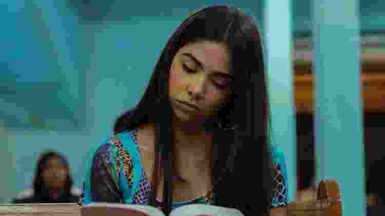 Bruna Mascarenhas como Rita em cena da série Sintonia, da Netflix - Rafael Morse/Netflix