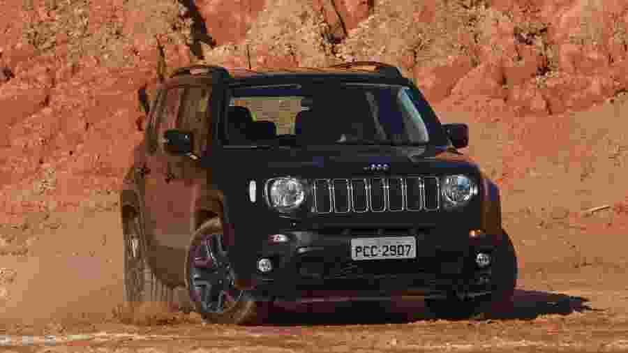 Jeep Renegade não foi apenas o utilitário esportivo mais emplacado no ano passado; foi também o automático líder em vendas - Murilo Góes/UOL