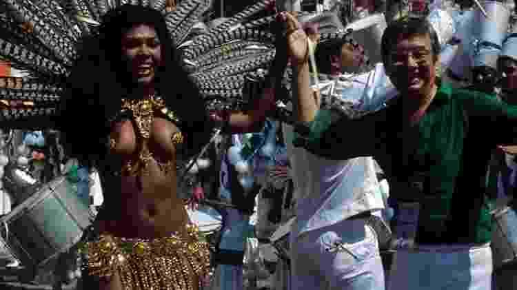 Adele foi a primeira rainha de bateria no carnaval brasileiro - Arquivo