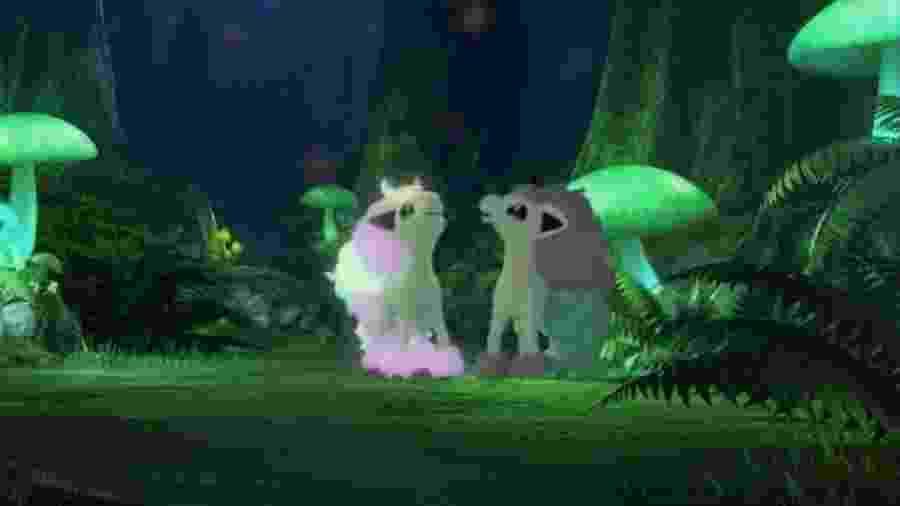A versão Galarian de Ponyta - Reprodução