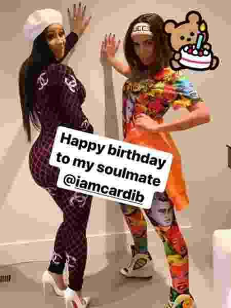 Anitta deseja feliz aniversário à Cardi B - Reprodução/Instagram